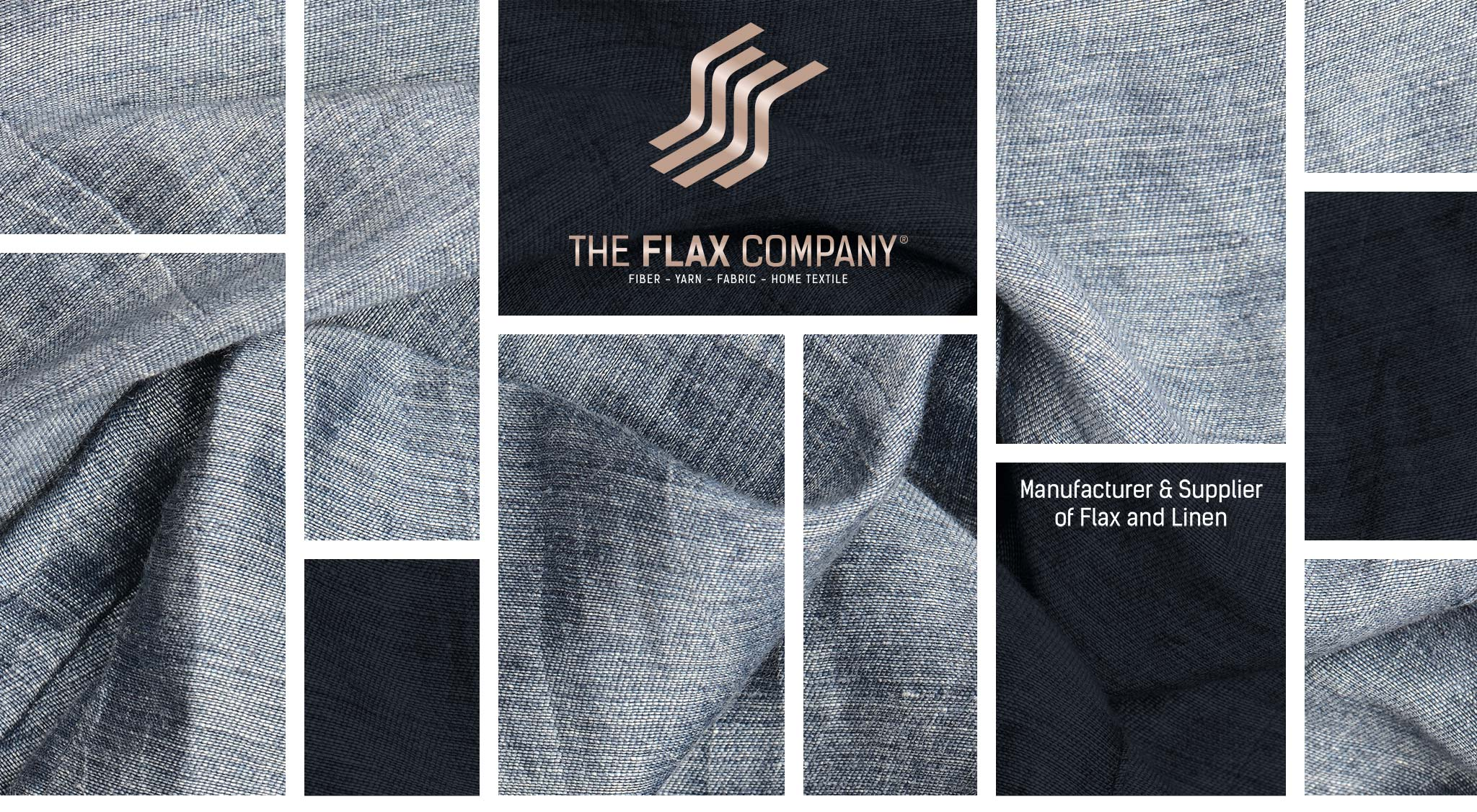Manufacturing factory yarn produced by the flax industry